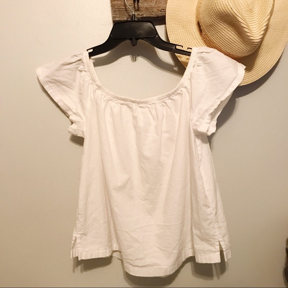 Levi's Tops - Levi's Whitw Off The Shoulder Top